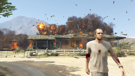 GTA V PS4 Review - Best Open World Fighting Game